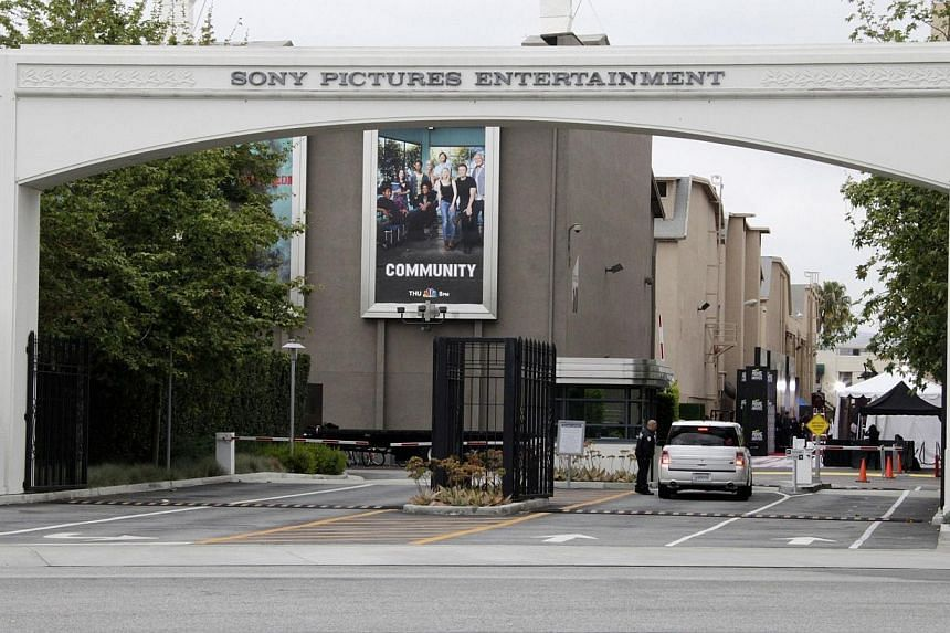 An entrance gate to Sony Pictures Entertainment at the Sony Pictures lot is pictured in Culver City, California on April 14, 2013.A North Korean diplomat denied Pyongyang was behind a crippling cyber attack on Sony Pictures, which is about to r