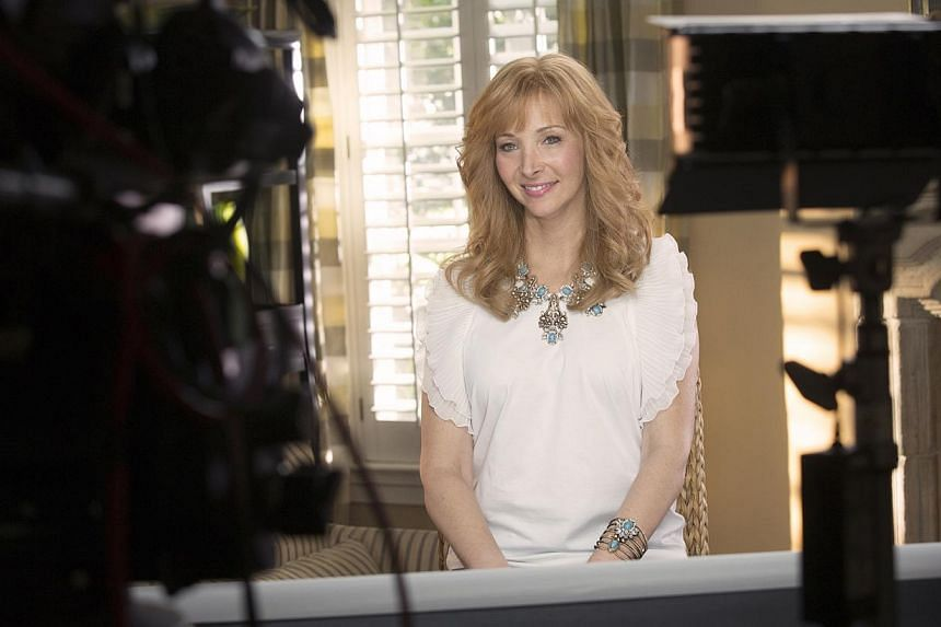 Lisa Kudrow, who played the kooky Phoebe in Friends, returns with a few more wrinkles and a darker vibe in The Comeback. -- PHOTO: HBO