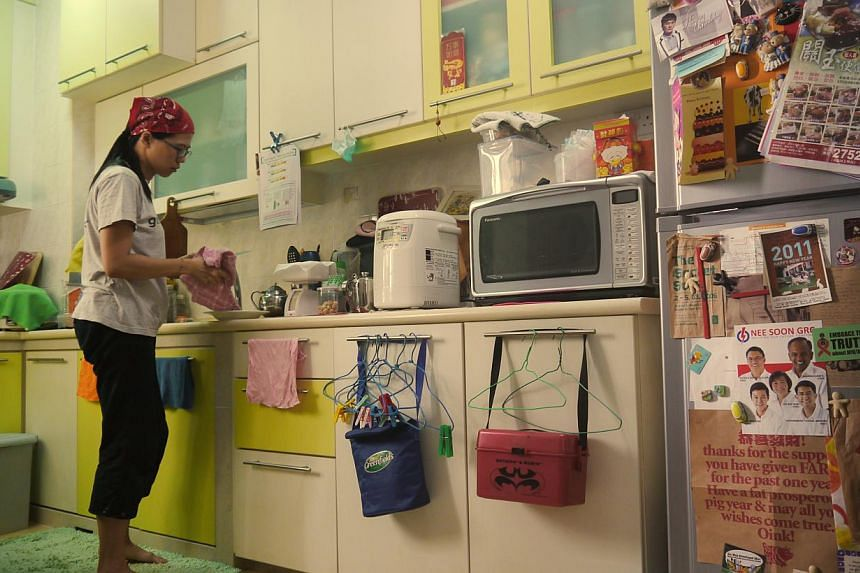 Lei Yuan Bin captures the everyday lives of three single women living alone in HDB flats in his film, 03-Flats (above). --PHOTO: SINGAPORE INTERNATIONAL FILM FESTIVAL
