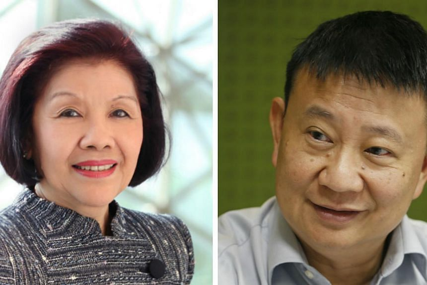 After 17 years on the Esplanade's board, its chairman Theresa Foo (left) will be stepping down at the end of the year. Mr Lee Tzu Yang (right), former chairman of Shell Companies in Singapore and an Esplanade board member since 2003, will head the bo