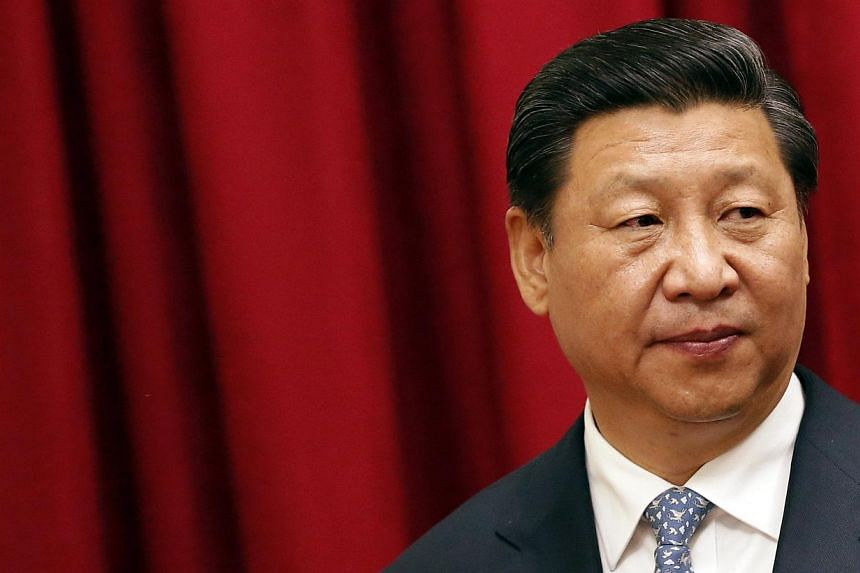 US President Barack Obama said on Wednesday that Chinese President Xi Jinping (above) has consolidated power more quickly than any Chinese leader in decades and that is raising human rights concerns and worrying China's neighbours. -- PHOTO: REUTERS