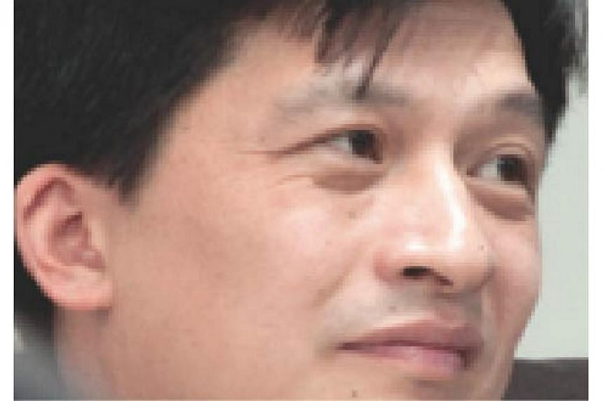 Yu Wanli, a former associate professor at Peking University, has resigned after being accused of having sex with a female student and getting her pregnant. -- PHOTO: CHINA DAILY/ASIA NEWS NETWORK