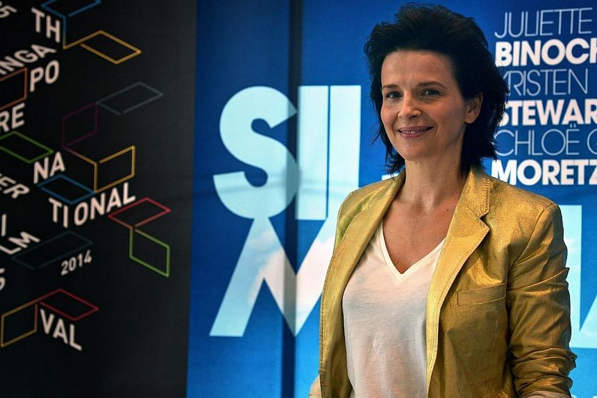 French actress Juliette Binoche is in Singapore to accompany her film, Clouds Of Sils Maria. For Binoche, working with Kristen Stewart and Chloe Moretz opened her eyes to how vastly different working styles could be between two American actresses of