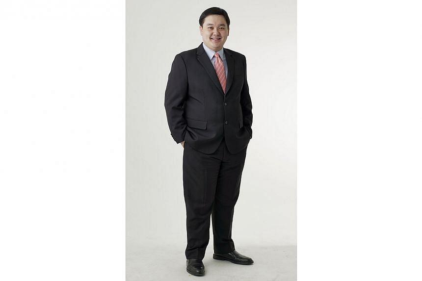 Mr Chua Hsien Yang, chief executive of Keppel DC REIT Management.-- PHOTO: KEPPEL DC REIT MANAGEMENT