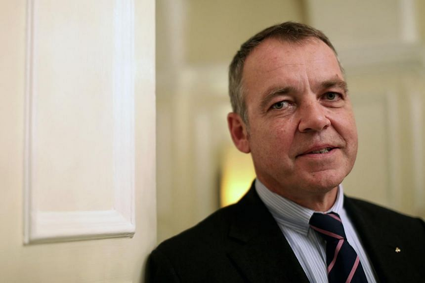 Christoph Mueller, chief executive officer of Aer Lingus Group Plc, poses for a photograph following an interview at the Goring hotel in London, UK on Wednesday, Feb 6, 2013. Malaysian Airline System Bhd (MAS), which is due to be taken private a