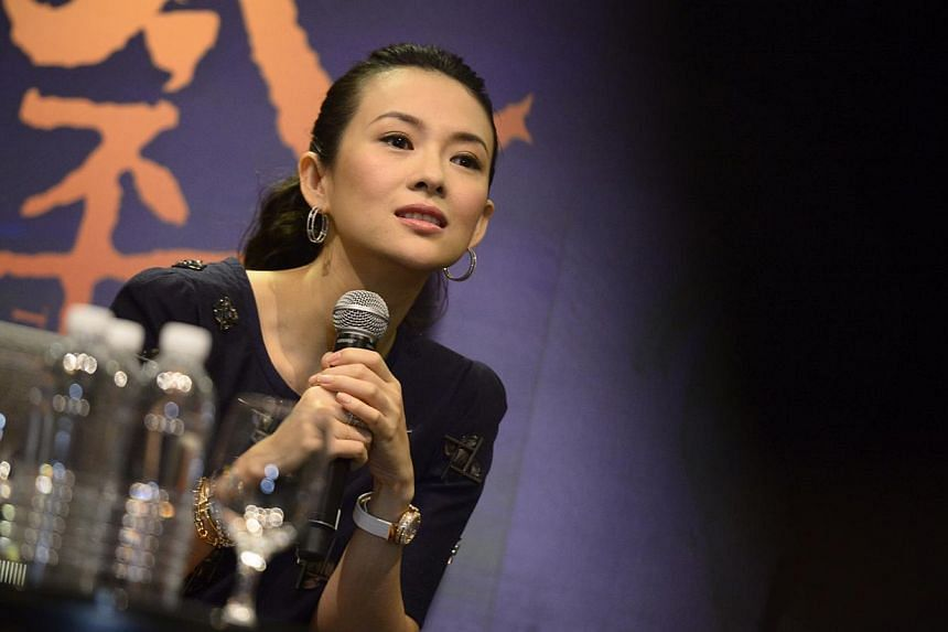 Actress Zhang Ziyi appears in The Crossing, the latest epic from director John Woo. -- ST PHOTO: MARK CHEONG