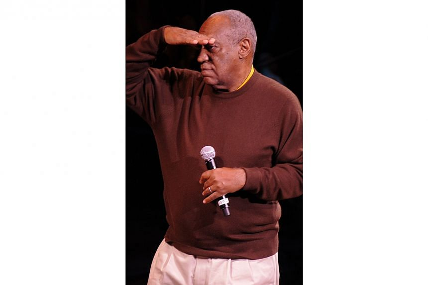 US comedian Bill Cosby performing onstage for a A Celebration of Paul Newman's Hole in the Wall Camps at Avery Fisher Hall, Lincoln Center in New York City onOct 21, 2010.The only woman to have filed a sex assault lawsuit against Bi