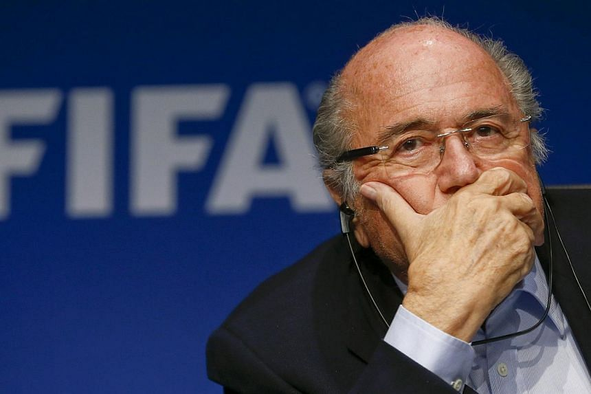 A privileged existence in Switzerland for some of the largest sports organisations in the world and their top executives, including Sepp Blatter (above), president of world soccer's governing body Fifa, may be coming to an end. -- PHOTO: REUTERS