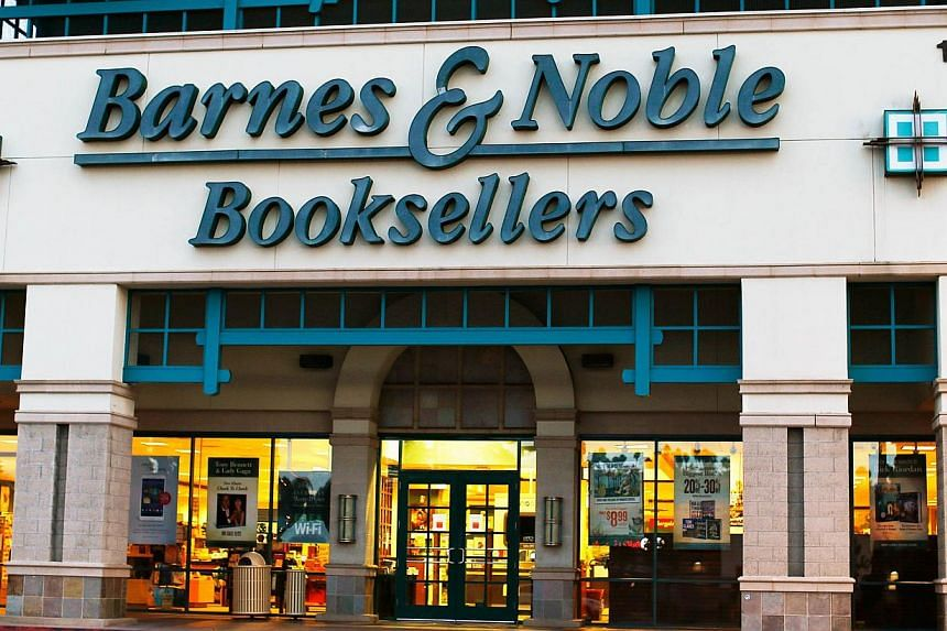 US bookseller Barnes & Noble said Thursday it had ended a partnership with Microsoft for its Nook tablet computers, as the retailer prepares a spin-off of the unit. -- PHOTO: REUTERS