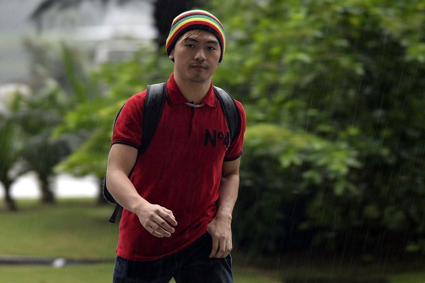 Alvin Tan, 26, jumped bail after claiming trial last year to three charges under the Film Censorship Act, Sedition Act and the Penal Code, together with former partner Vivian Lee. -- ST FILE PHOTO