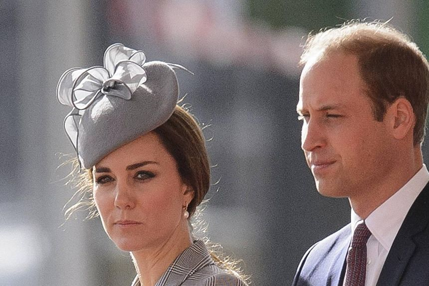 Prince William and his pregnant wife Kate head to New York on Sunday for a glitzy visit that marks a step up in their role representing Britain abroad, royal commentators said. -- PHOTO: REUTERS
