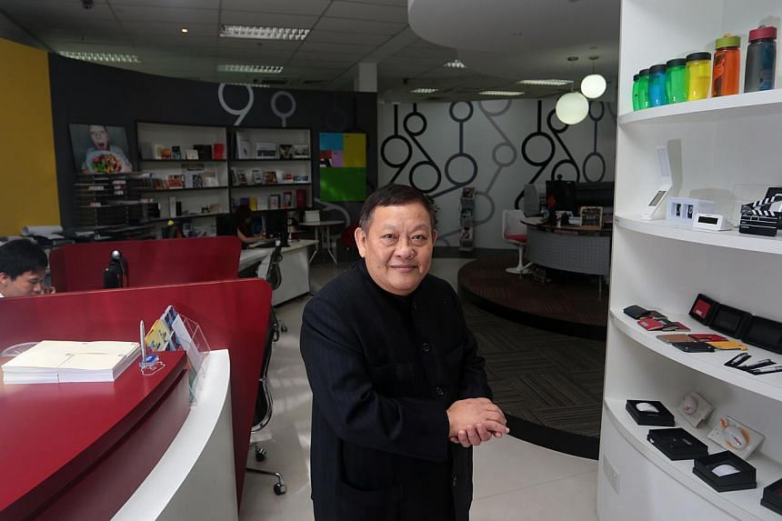 Fong Kah Kuen, founder and chief executive of locally-listed printing firm, Xpress Holdings.-- PHOTO: ST FILE
