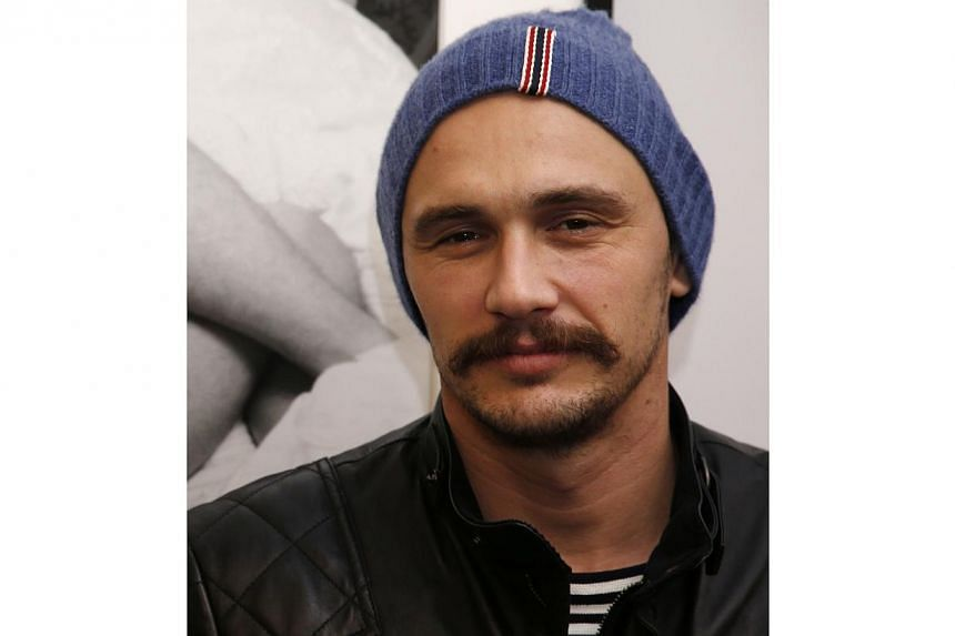 "In the sketch, James Franco listed some upcoming revelations, including that ""my email is CuterThanDaveFranco@aol.com. My password is LittleJamesyCutiepie"". -- PHOTO: AFP"