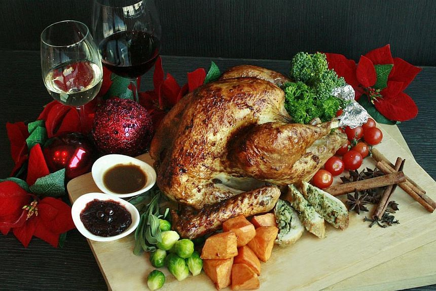 Roast Turkey Sioh from Orchard Hotel Singapore. -- PHOTO:ORCHARD HOTEL SINGAPORE