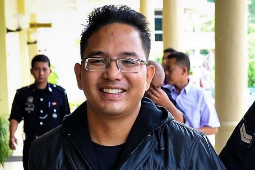 Malaysian activist Ali Abd Jalil, who had his passport revoked by the Immigration Department on Monday, claims he has been issued an asylum identity card by the Swedish government. -- PHOTO: THE STAR/ASIA NEWS NETWORK