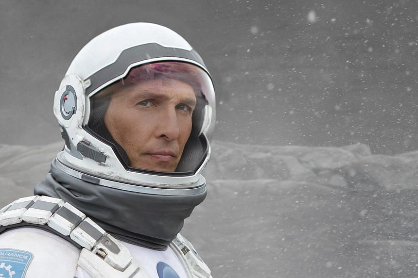 A still from Interstellar, which was one of the American Film Institute's top picks for 2014. -- PHOTO: WARNER BROS