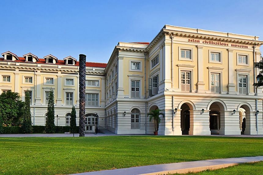 A new restaurant and cafe will open at the Asian Civilisations Museum in the later part of next year, and it will be run by established restaurant operator The Prive Group. -- PHOTO: ASIAN CIVILISATIONS MUSEUM