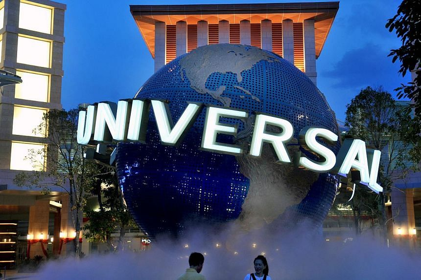 Universal Studios Singapore (USS) was the most popular destination in Singapore in 2014. -- ST PHOTO: NG SOR LUAN