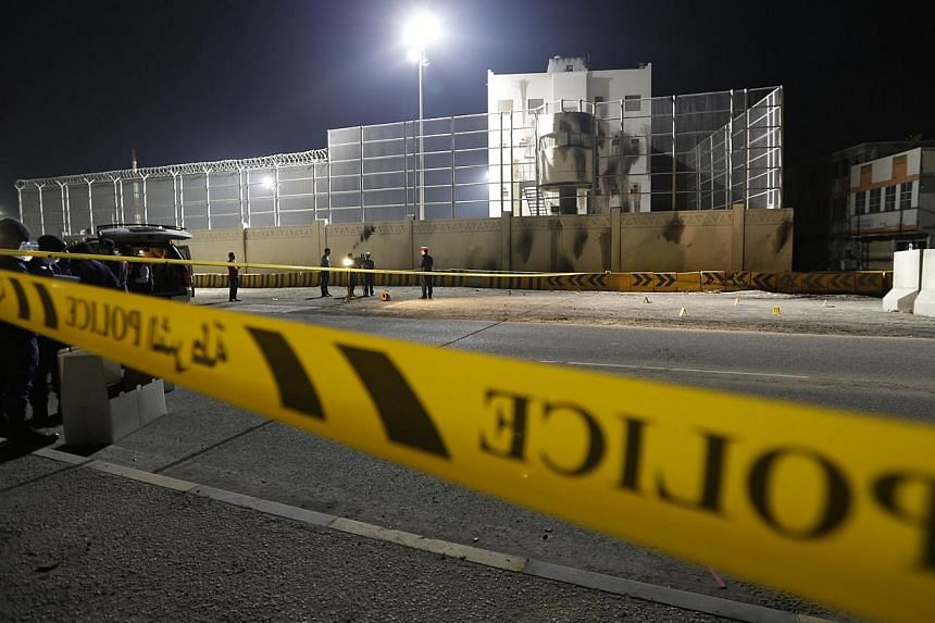 An explosion killed a Bahraini citizen and wounded an expatriate man on Tuesday, the Interior Ministry said on its Twitter account, in the second fatal attack in the Gulf Arab state in two days. -- PHOTO: REUTERS