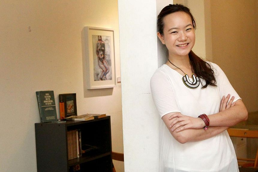 Former opposition politician Nicole Seah, 28, will be making her acting debut with a splash in the local movie 1965, commemorating Singapore's 50 years of independence. -- PHOTO: THE NEW PAPER FILE
