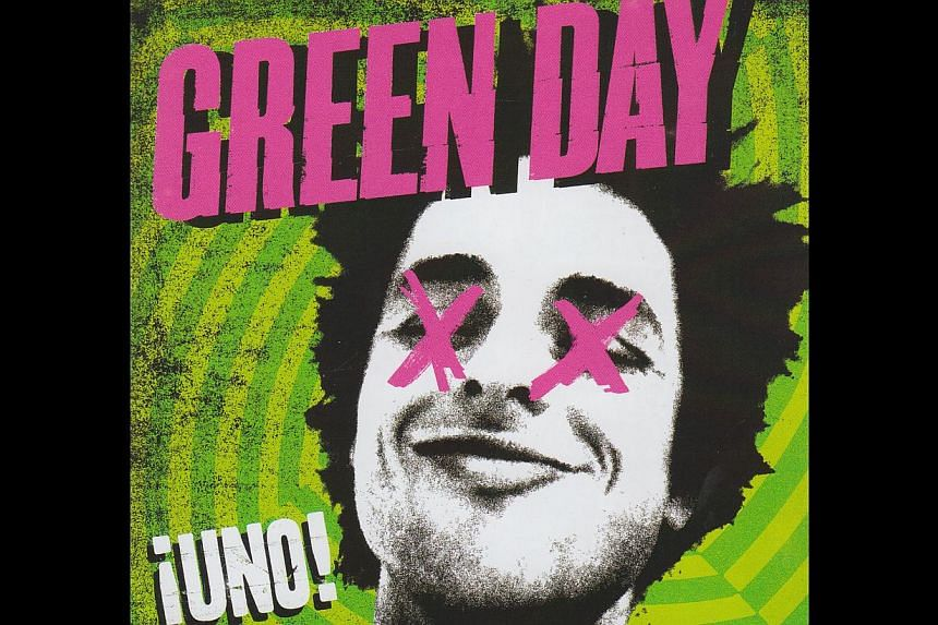 Green Day CD cover from 2012. -- PHOTO: WARNER MUSIC