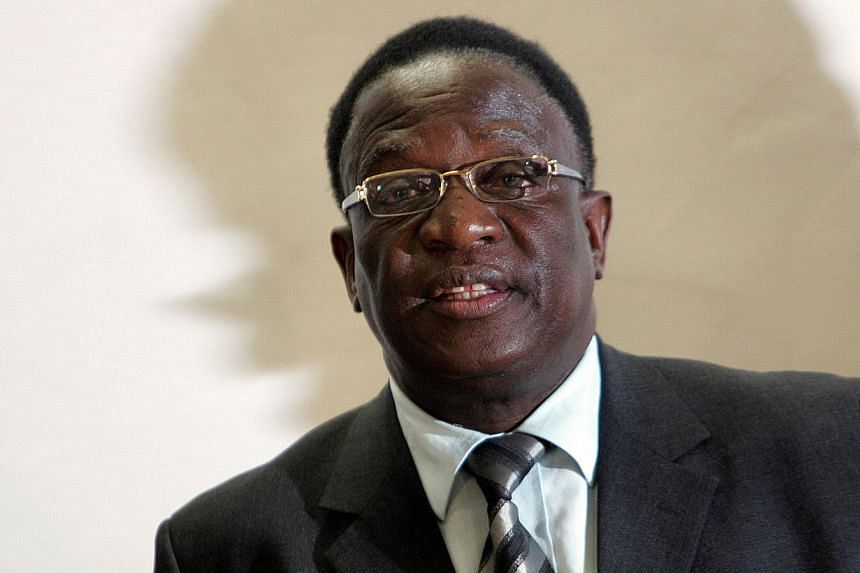 Emmerson Mnangagwa has been waiting for his moment to shine for over 30 years. -- PHOTO: AFP