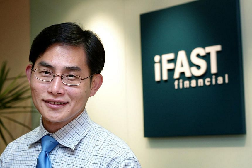 Lim Chung Chun, chairman and chief executive officer of iFAST Corporation. -- PHOTO: BT FILE
