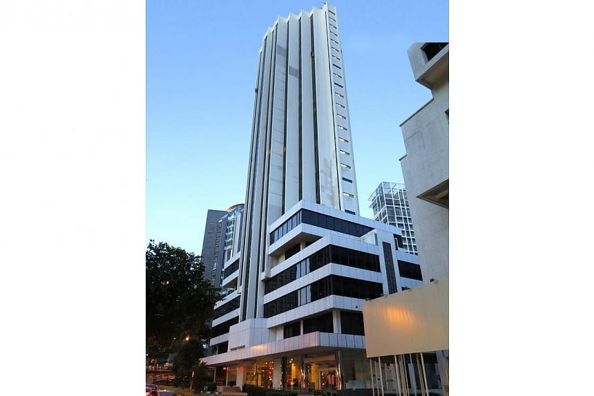 Freehold commercial and residential property Thong Sia Building in Orchard is up for sale by tender. -- PHOTO: JLL