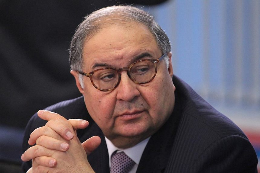 Entrepreneur and philanthropist Alisher Usmanov announced on Tuesday that he was the anonymous bidder who won the Nobel prize sold at an auction at Christie's last Thursday. -- PHOTO:GETTY IMAGES