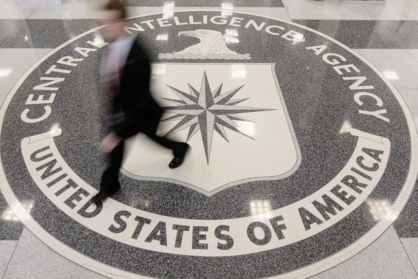 """The lobby of the CIA Headquarters building in Virginia, USA. North Korea, rattled by the United Nations' condemnation of its human rights record, urged the Security Council to censure the US for its use of """"inhuman torture"""" methods, after the release"""