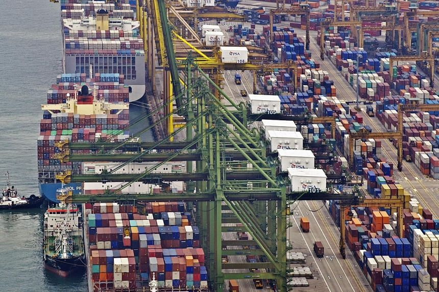Singapore's competition watchdog has imposed a total of $7.15 million in penalties on 10 freight forwarders and their subsidiaries here for engaging in cartel activities to fix prices. An 11th firm escaped financial penalty. -- PHOTO: ST FILE