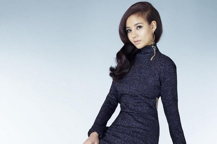 Cheryl Wee (above) on how she has matured over the past six months living in Taiwan, where she had a cameo role in political parody show Crazy Party.