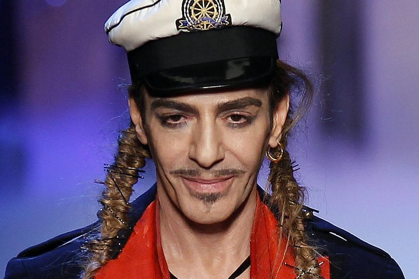 John Galliano (above, in a 2011 file photo), the British designer whose return to fashion was to be the highlight of the Paris couture shows in January, will debut his first collection for the French fashion house Maison Margiela in London instead of