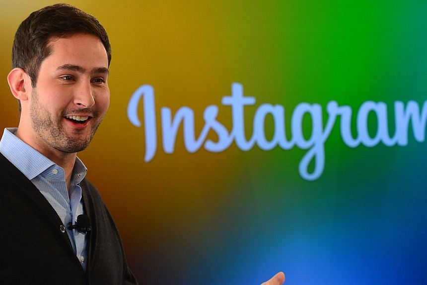 In this Dec 12, 2013 file photo, Instagram co-founder Kevin Systrom addresses a press conference in New York. Instagram, the photo-sharing social network owned by Facebook, announced Wednesday it has more than 300 million users as it unveiled a