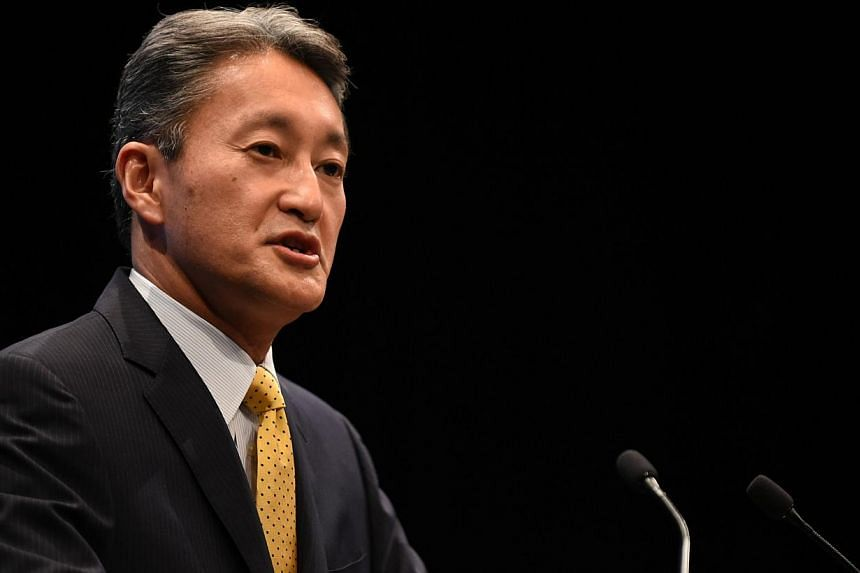 Sony Corp chief executive Kazuo Hirai (above) ordered the film The Interview to be toned down after Pyongyang denounced it for depicting the assassination of North Korea's leader, according to e-mails apparently stolen from Sony's Hollywood studio. -
