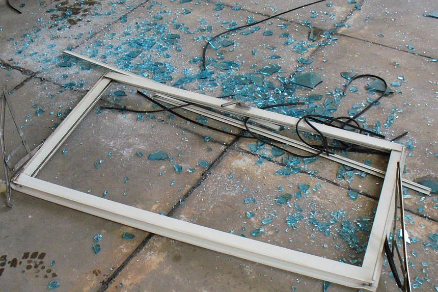 There were 43 recorded cases of windows falling from Housing Board flats and private homes in the first 11 months of the year, equal to the total number last year but fewer than in the years before. -- PHOTO: BUILDING CONSTRUCTION AUTHORITY&nbs