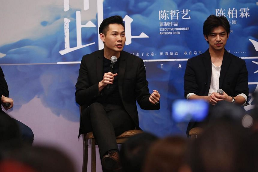Award-winning homegrown film-maker Anthony Chen will be producing a slate of films in the coming year with his newly-established film company Giraffe Pictures. -- PHOTO: TED CHEN FOR THE STRAITS TIMES