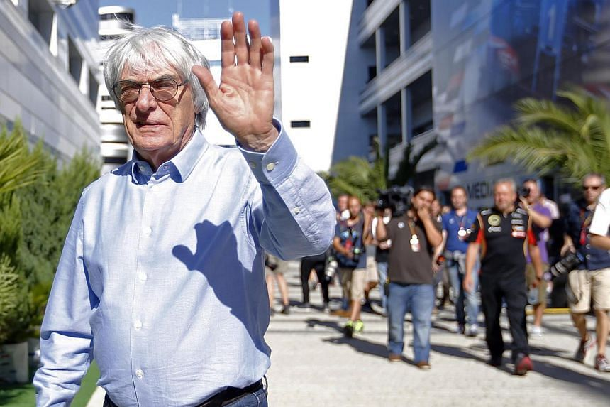 "Formula One supremo Bernie Ecclestone (above) has dismissed talk of a new chairman trying to ""rein him in"" and says he plans to continue running the company as if he owned it. -- PHOTO: REUTERS"