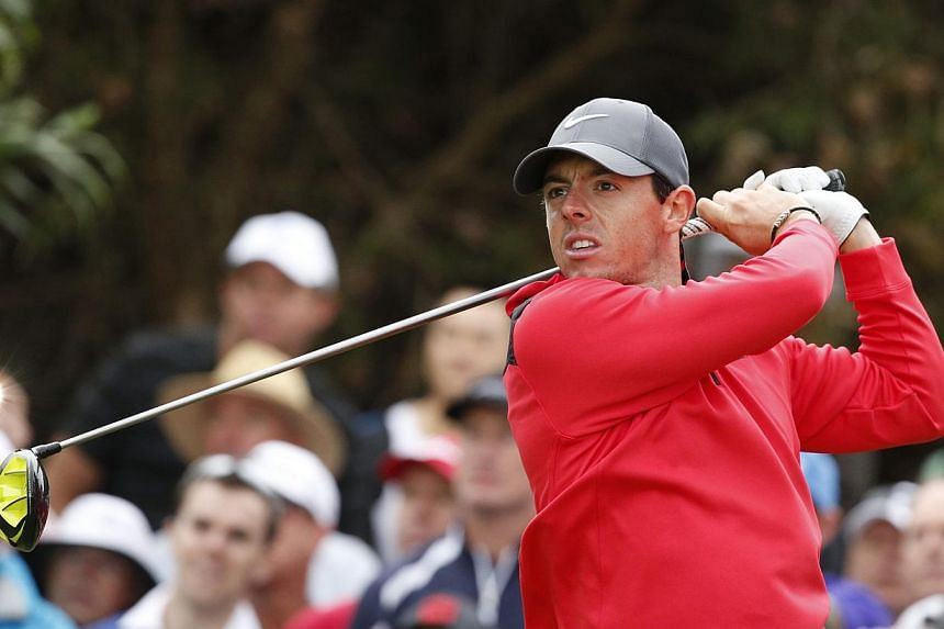 Rory McIlroy (above), who won two majors and helped Europe retain the Ryder Cup in a stunning 2014, was named the British Sports Journalists Association's Sportsman of the Year on Thursday. -- PHOTO: REUTERS