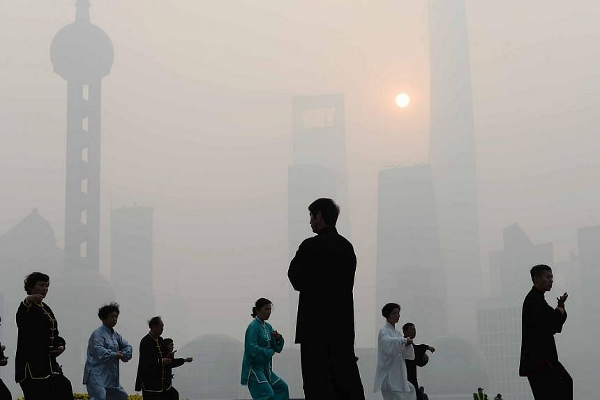 The number of carbon permits traded on China's pilot emissions market in Beijing in its first year of operations totalled 2.1 million, or just 4.5 percent of those on offer, according to exchange data released on Saturday. -- PHOTO: AFP