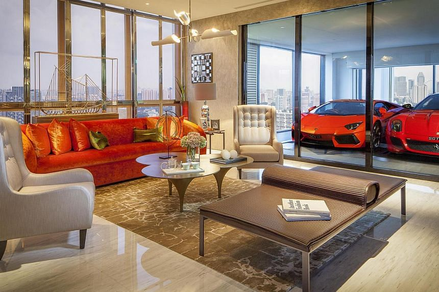 Interior of an apartment in Hamilton Scotts, a 30-storey apartment building on Scotts Road developed by KOP Properties. The developer made a net loss of $4.5 million for the three months to Oct 31, sharply down from its profit of $473,000 the previou