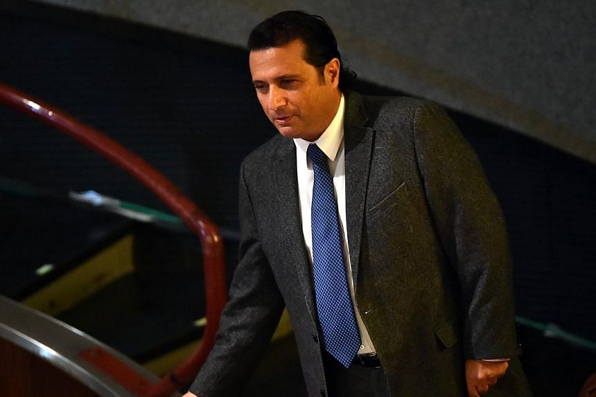 "Costa Concordia's captain Francesco Schettino arrives at his trial in a local theatre in Grosseto on Dec 2, 2014. The Italian ex-captain of the doomed Costa Concordia claimed at his manslaughter trial on Saturday that ""with 30 more seconds"" - an"