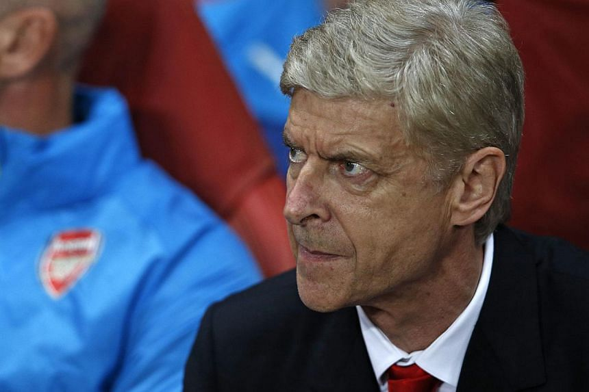 """Arsenal's French manager Arsene Wenger on Oct 1, 2014. From the perspective of the overwhelming pro-Wenger majority Arsenal's dazzling 4-1 victory over Newcastle United in the Premier League on Saturday was emphatic proof of their mantra """"In Arsene W"""