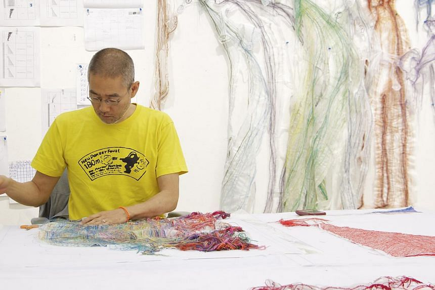 Korean artist Do Ho Suh (above). -- PHOTO: DO HO SUH AND STPI