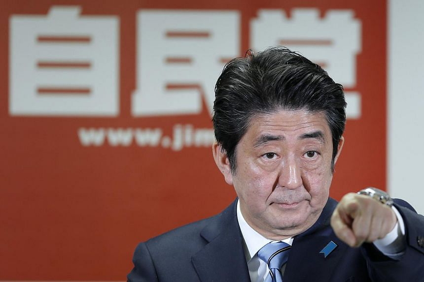 Fresh from a big election win, Prime Minister Shinzo Abe has also indicated his eagerness to revise the nation's war-renouncing Constitution.