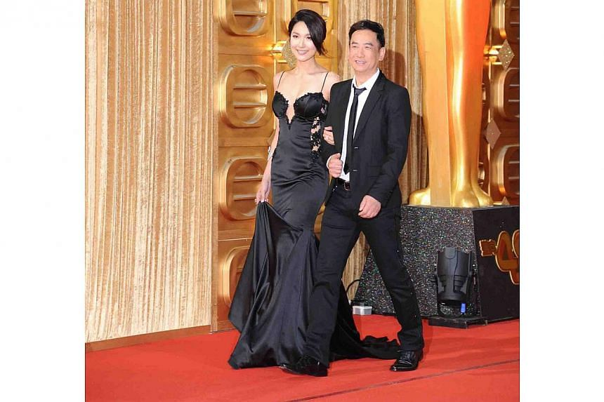 Lianne Li and Cheung Chi Kwong. -- PHOTO: TELEVISION BROADCASTS LIMITED