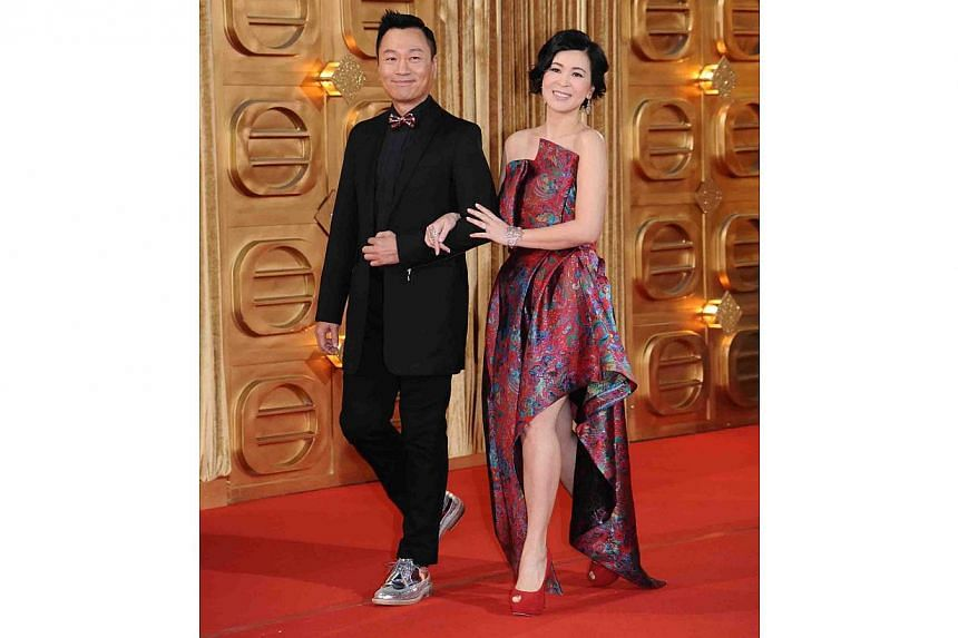 Wayne Lai and Louisa So. -- PHOTO: TELEVISION BROADCASTS LIMITED