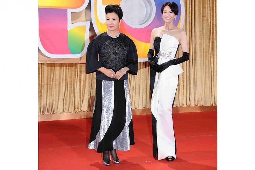 Liza Wang and Carol Cheng. -- PHOTO: TELEVISION BROADCASTS LIMITED