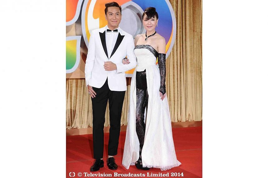 Kenneth Ma and Kristal Tin. -- PHOTO: TELEVISION BROADCASTS LIMITED