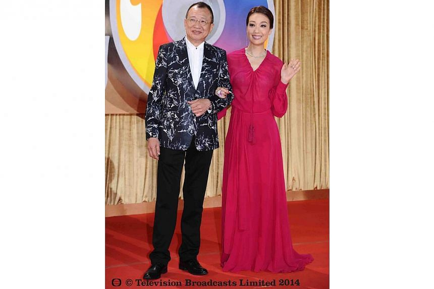 Benz Hui and Elena Kong. -- PHOTO: TELEVISION BROADCASTS LIMITED